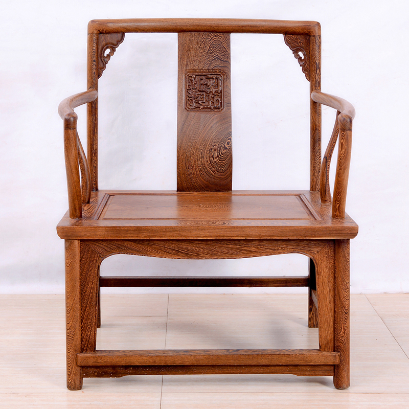Chinese arts wing hin court mahogany furniture wenge wood armchair armchairs chair archaized dwarf armchairs