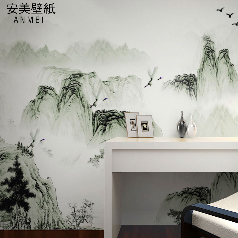 Get Quotations Chinese Ink Painting Large Murals Tv Wall Background Wallpaper The Living Room Style Mural