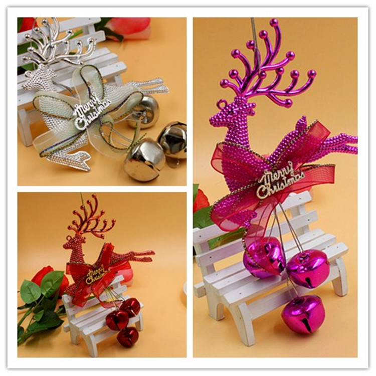 Chong cheng electronics christmas tree decoration small pendant shop window decoration christmas decorations christmas supplies christmas deer