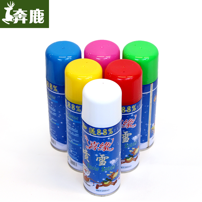 Christmas spray snow snow snow fun christmas activities decorative snowflake ribbon striped ribbon spray spray snow spray pattern