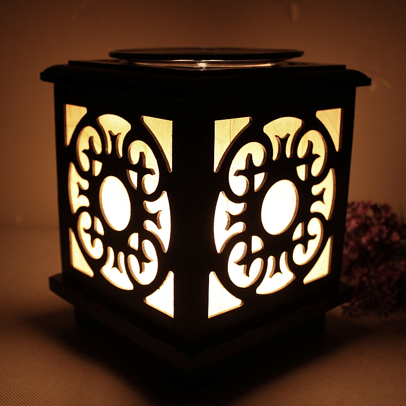 Classical wooden aroma lamps aroma fragrance lamp dimmer plug fragrance lamp oil lamp oil lamp vaporizer