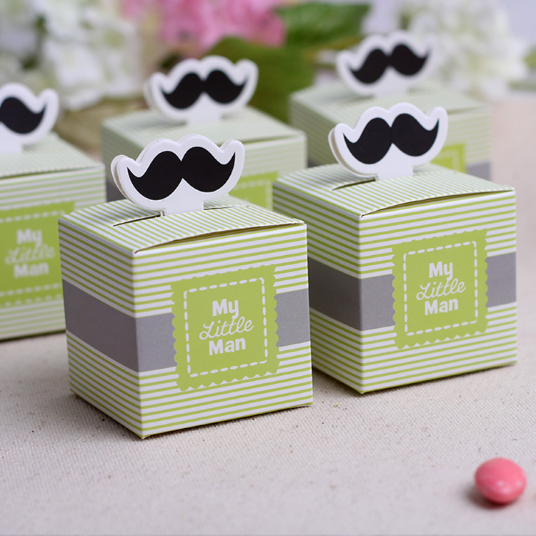 Cocoa daiyi small box tide beard candy box creative wedding wedding wedding supplies gift to give as gifts