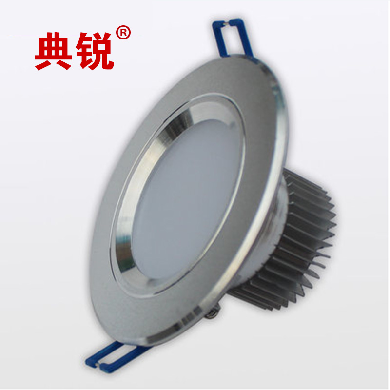 Code sharp led downlight led ceiling 3w5w7w super bright background light living room lights led ceiling lights hole