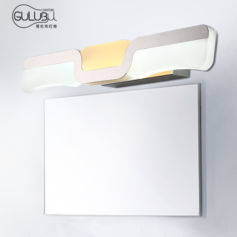 Columbus led bathroom mirror front lamps bathroom wall lamp modern minimalist makeup mirror cabinet lighting minimalist mirror lights