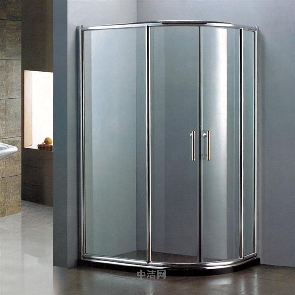 Come to measure the arc arc riin custom bathroom shower room shower room shower room glass sliding door off the bathroom door