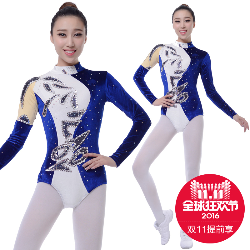 Competitive aerobics clothing artistic gymnastics dance clothing custom clothing aerobics competition cheerleading apparel cheerleading