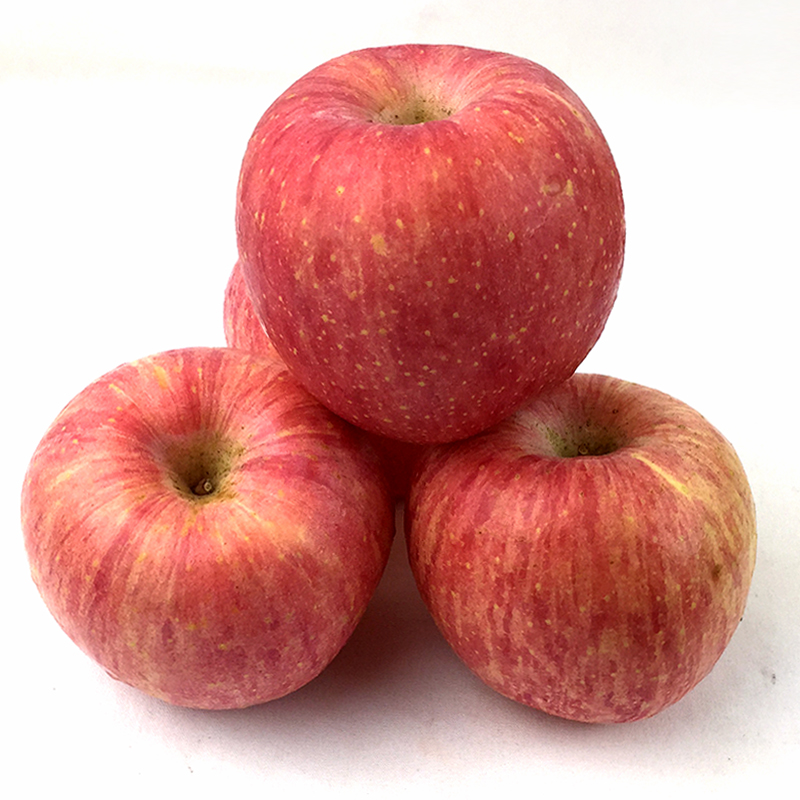 Concept shuihong lu shan red qixia shandong yantai fuji apple 80 #10 loaded with fresh fruit now pick now issued