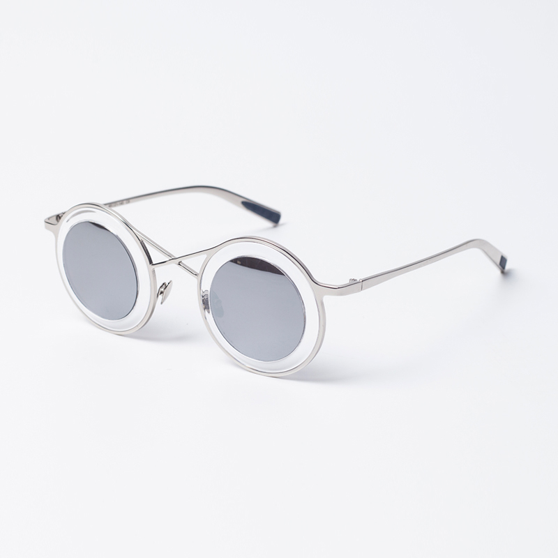 aa1250b6381 Get Quotations · Connive american big star with money round interesting shape  sunglasses unisex sunglasses