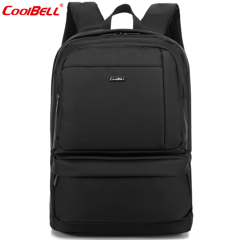 Cool bell apple business shoulder bag 15.6 inch laptop computer bag men and women travel backpack waterproof