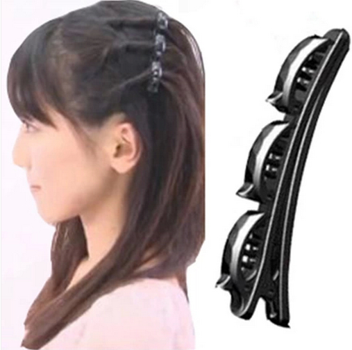 Cool decorative plate made of hair tools hair styling hairpin headdress side folder word folder bangs clip hair accessories korea