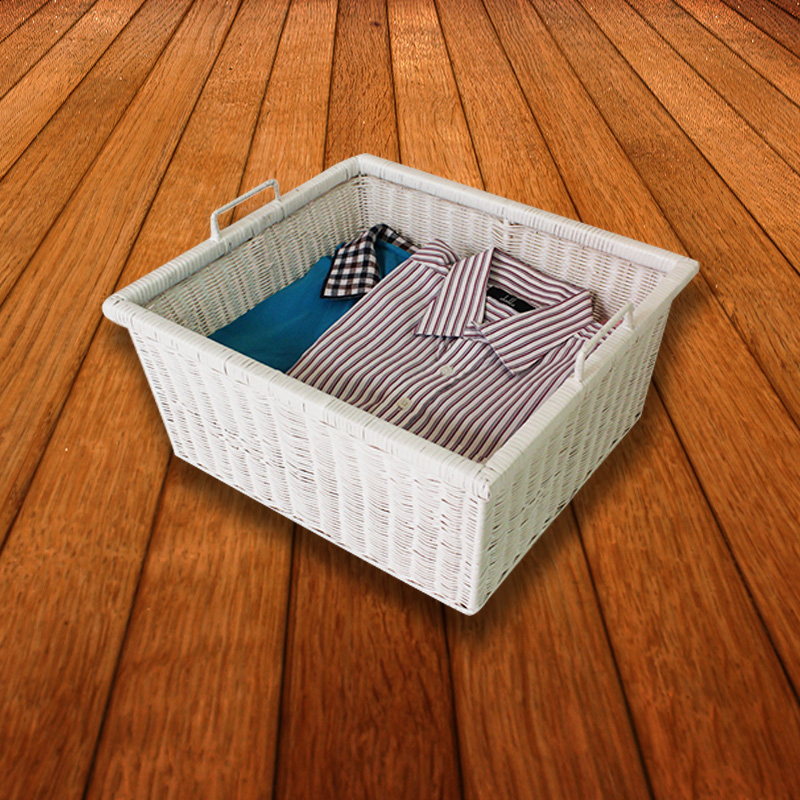 Cool home bathroom dirty clothes basket storage basket woven rattan laundry basket of dirty clothes storage baskets