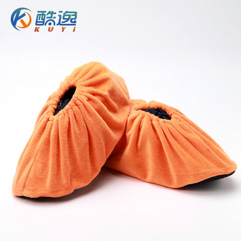 Cool yat home wear thick skid room can be repeatedly washed flannel shoe model room 10 pairs of adult children