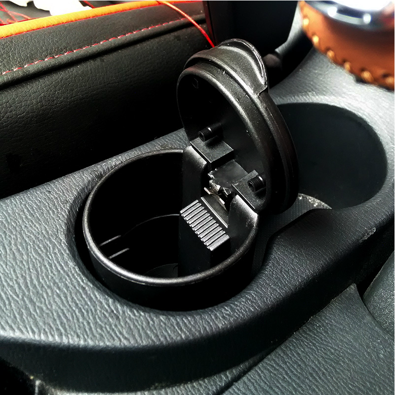 Core pa flame car ashtray byd唐高applicable modified car decoration supplies automotive interior accessories