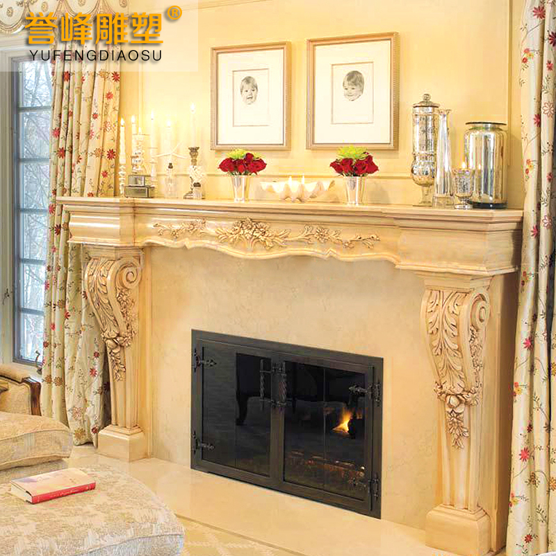 [Cosmos] classic european fireplace fireplace fireplace decorative frame exquisite sculpture carved fireplace fireplace popular models