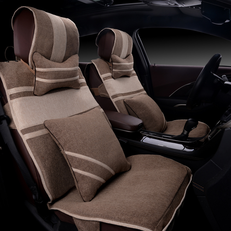 Cotton cloth summer special car seat cushion four seasons nissan chun novel qashqai loulan teana duke