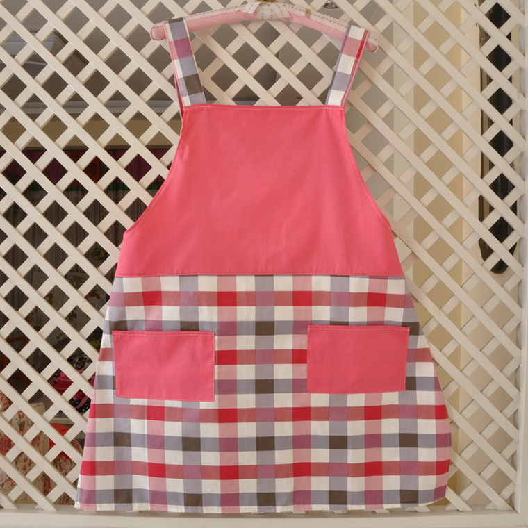 Cotton fabric kitchen apron aprons apron supermarket waiter aprons aprons overalls sleeves home america plaza 1