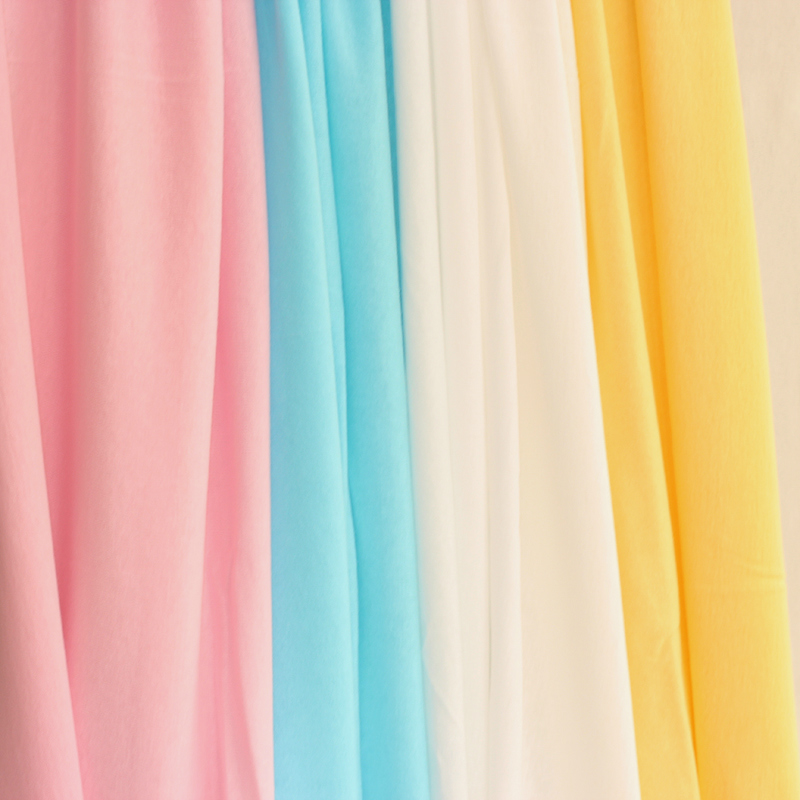 Cotton lining buli bu t-shirt fabric baby category a pajamas skirt elastic knitted cotton fabrics