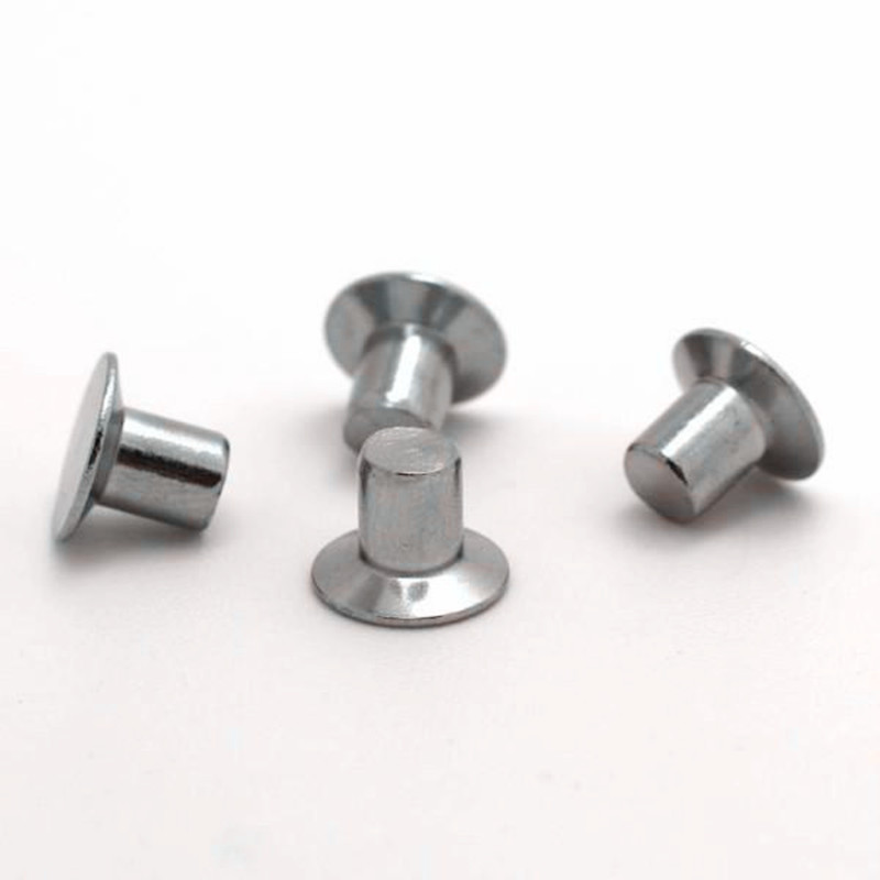 Countersunk head rivets solid iron rivets solid iron rivets countersunk head m5 * 12