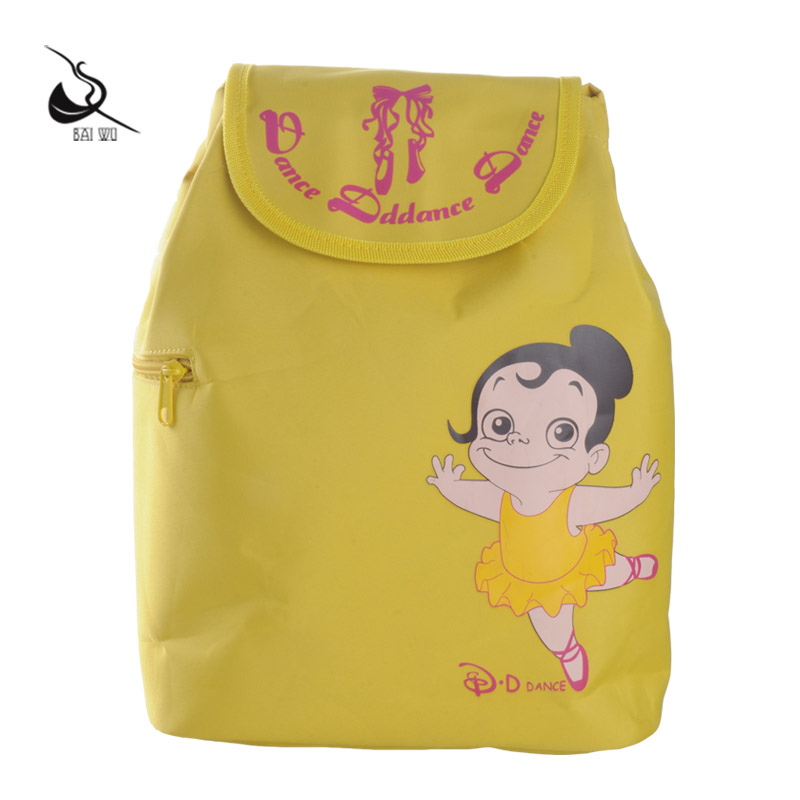Court parker house dance genuine new discount princess children's dance bag dance classes bag double shoulder bag cartoon cute