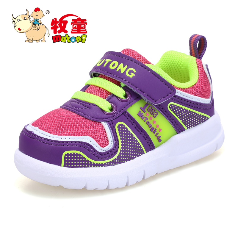 Cowboy shoes 2016 autumn new female baby male baby toddler shoes malls the same paragraph velcro toddler shoes
