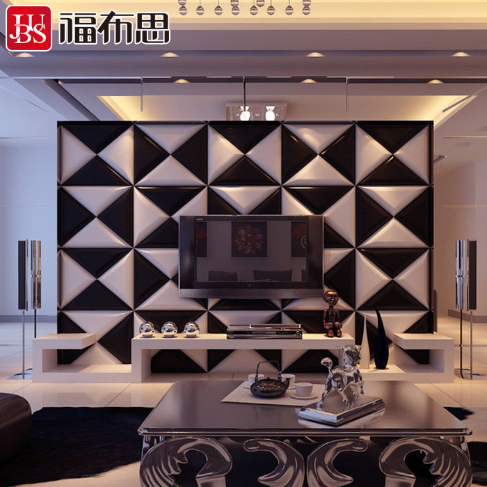 Cowhide soft package backdrop custom soft package backdrop living room bedside tv background wall soft pack soft bag type strip