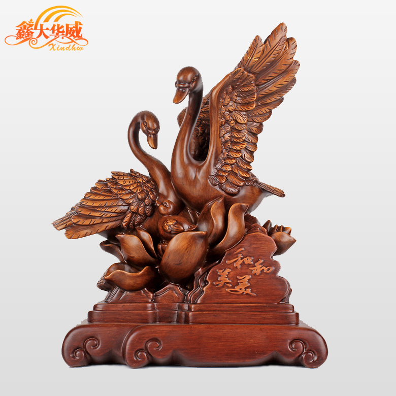 Creative couple swan wedding gift ornaments upscale practical wedding gift home decorations living room tv cabinet tv cabinet