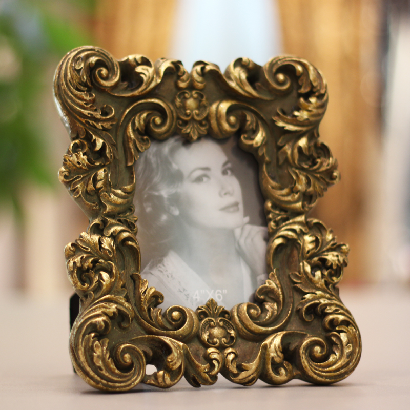 Creative decorations european resin relief to do the old retro photo frame 6 7-inch photo frame picture frames wedding photo frame wedding gift