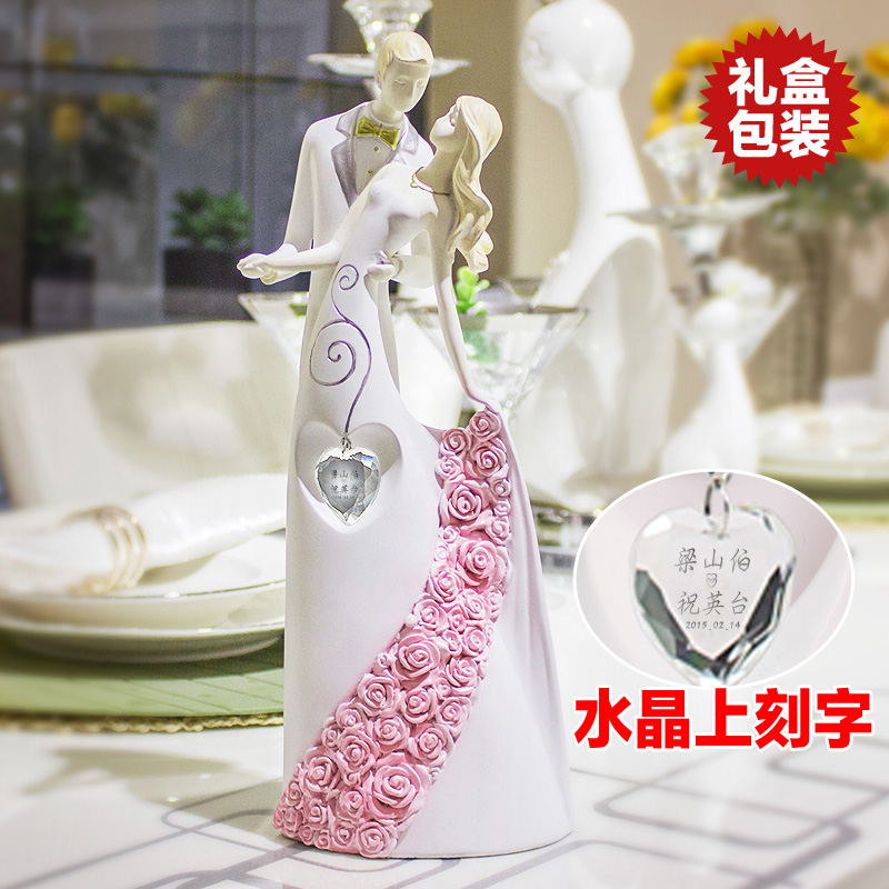 Creative new upscale wedding gifts practical living room home decorations ornaments friends girlfriends wedding gifts