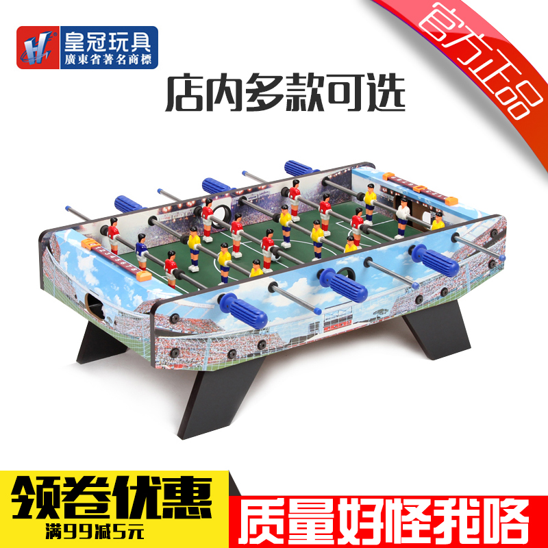 Crown home tuba six foosball table soccer table football machine desktop desktop football adult toys for children