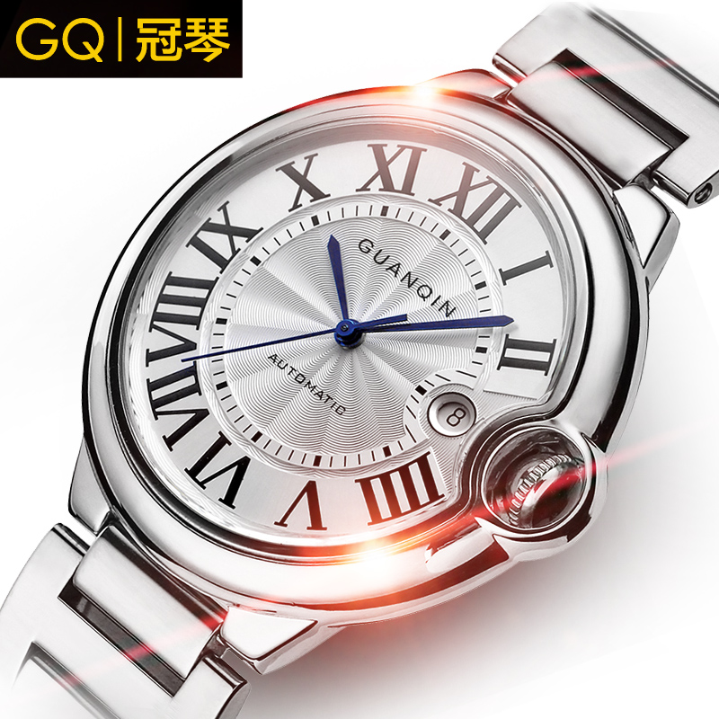 Crown piano authentic watches automatic mechanical watch classic business casual men's watch fashion watch vintage watches free shipping