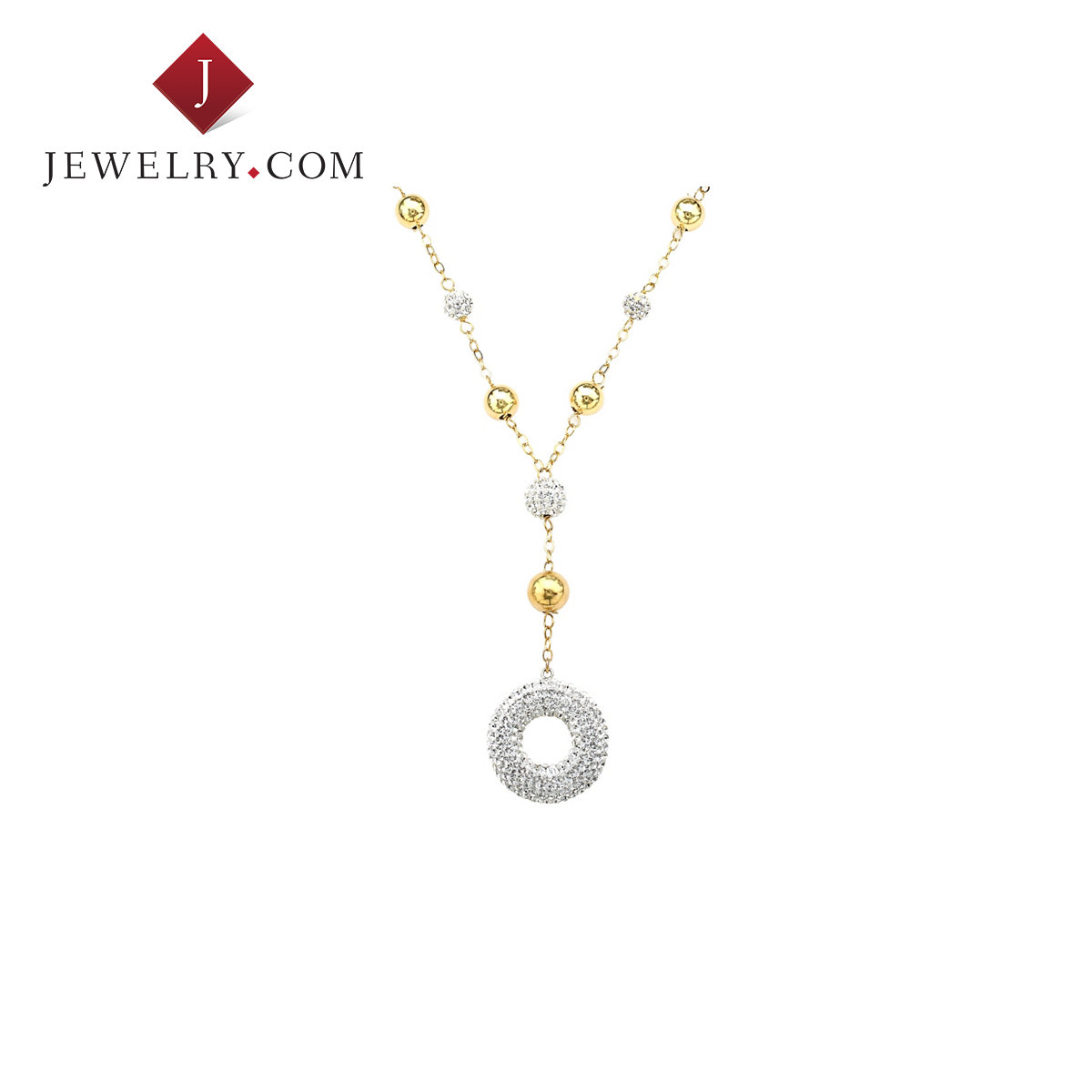 Crystaluxe circle k gold plated sterling silver necklace inlaid female swarovski crystal fashion jewelry
