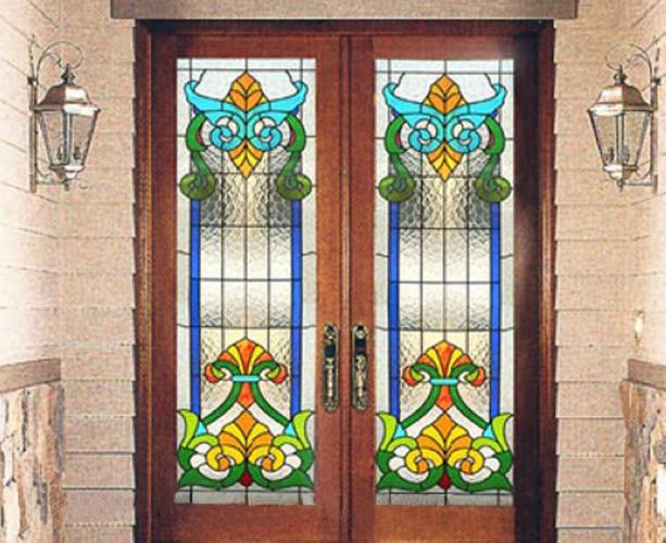 Get Quotations · Custom Art Glass/european Church Stained Glass/tiffany Art  Glass Windows And Doors/