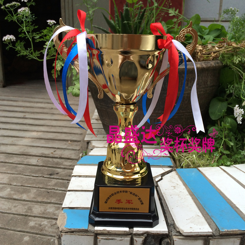 Custom metal trophy football badminton table tennis basketball mvp trophy metal trophy free lettering fee spot crystal