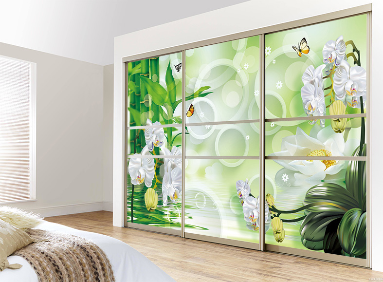 Get Ations Custom Sliding Door Mirror Wardrobe Stickers Glass Tile To Cover