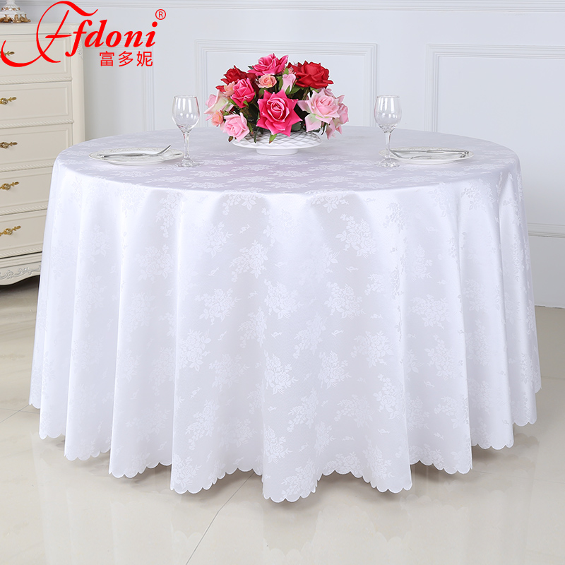 Custom thick chinese hotel tablecloth hotel tablecloth restaurant coffee table tablecloth tablecloth wedding banquet tablecloth square table round table