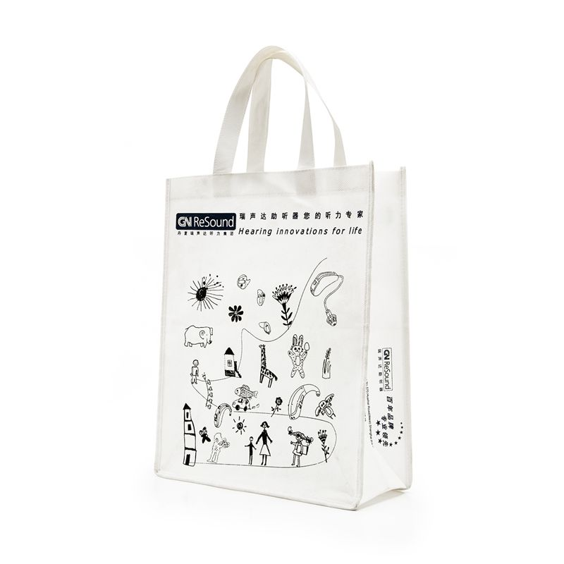Custom woven bags tote bag hand carry bag advertising bags bags custom printed word logo bag bagging