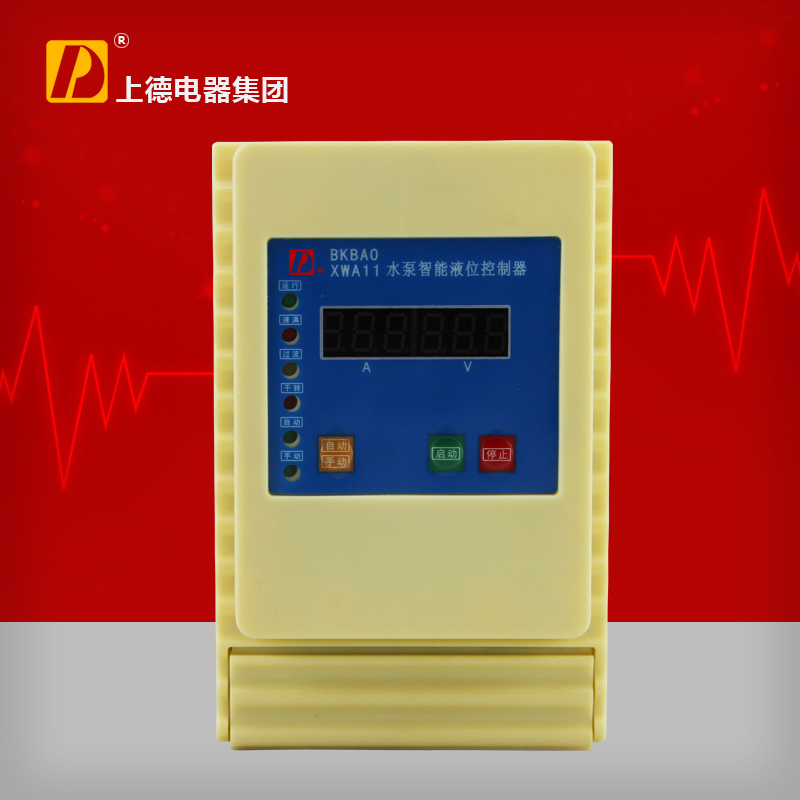 D brand lcd single phase pump intelligent level controller water level controller water protection