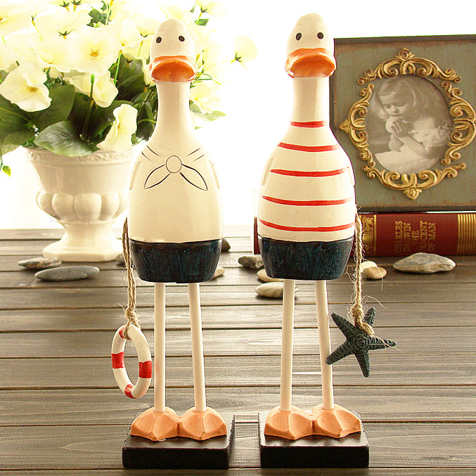 D creative cute romantic especially useful novelty ornaments mediterranean duck students girlfriends birthday gift to send men and women