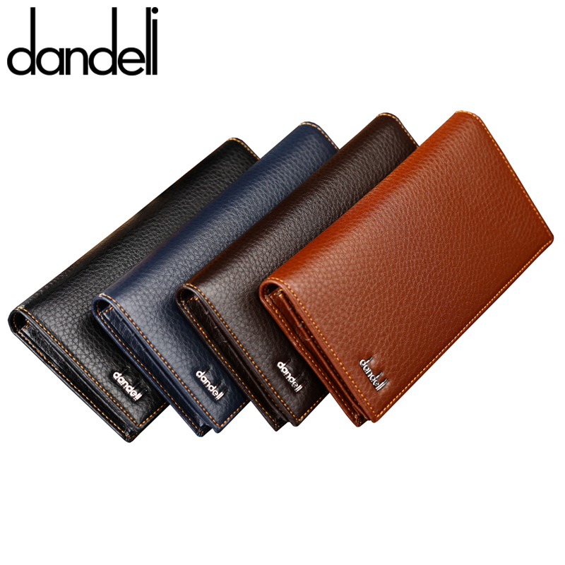 Dandenong stand wallet men wallet long wallet authentic free shipping men's wallet long section of the korean version of the influx of business