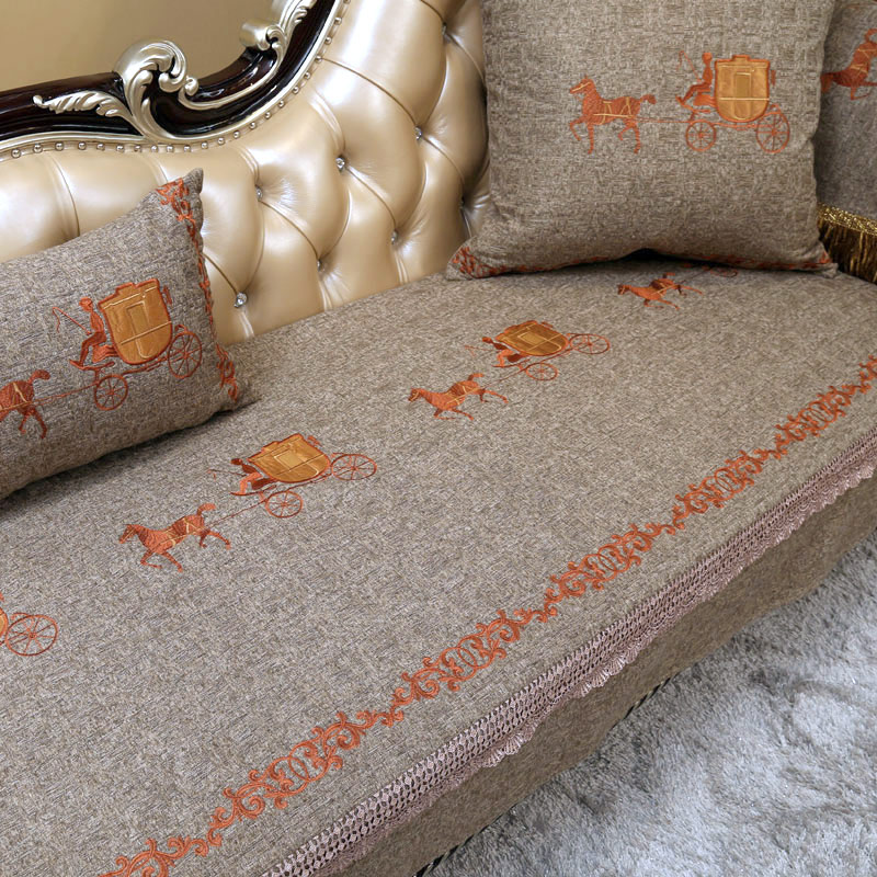 Danni ya european luxury sofa cushion four seasons slip leather sofa cushion fabric sofa cushion child can be customized