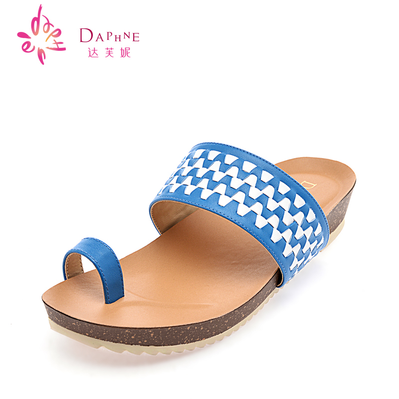b7b772932a6 Get Quotations · Daphne daphne genuine summer new checkerboard fashion  pattern with flat thong sandals casual sandals women