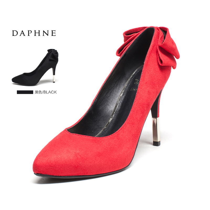 8136183fd8a Buy Daphne shoes red shoes bridal shoes black high heels shoes women ...