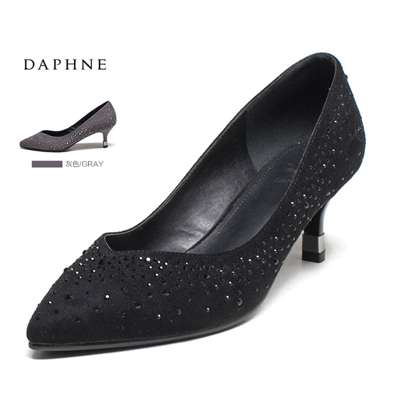 Daphne shoes single shoes autumn shoes women 2016 autumn shoes women high heels fine with a single needle nose