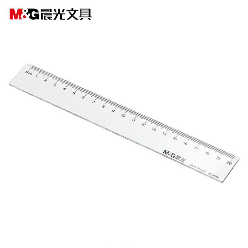 Dawn dawn stationery ruler ruler office type 20 cm ruler ruler student drawing mapping tools drawing stationery arl96004