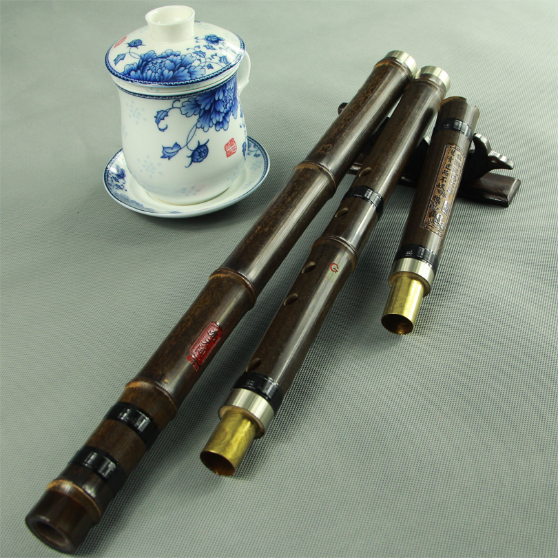 [Days que] free shipping refined flute playing xiao instruments/three flute eight holes/tin professional Shichiku dongxiao
