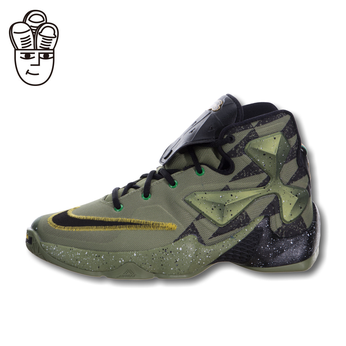 262d1b08fd91 Get Quotations · Decisionxiii as nike lebron nike lebron james 13  generations of basketball shoes all star men s