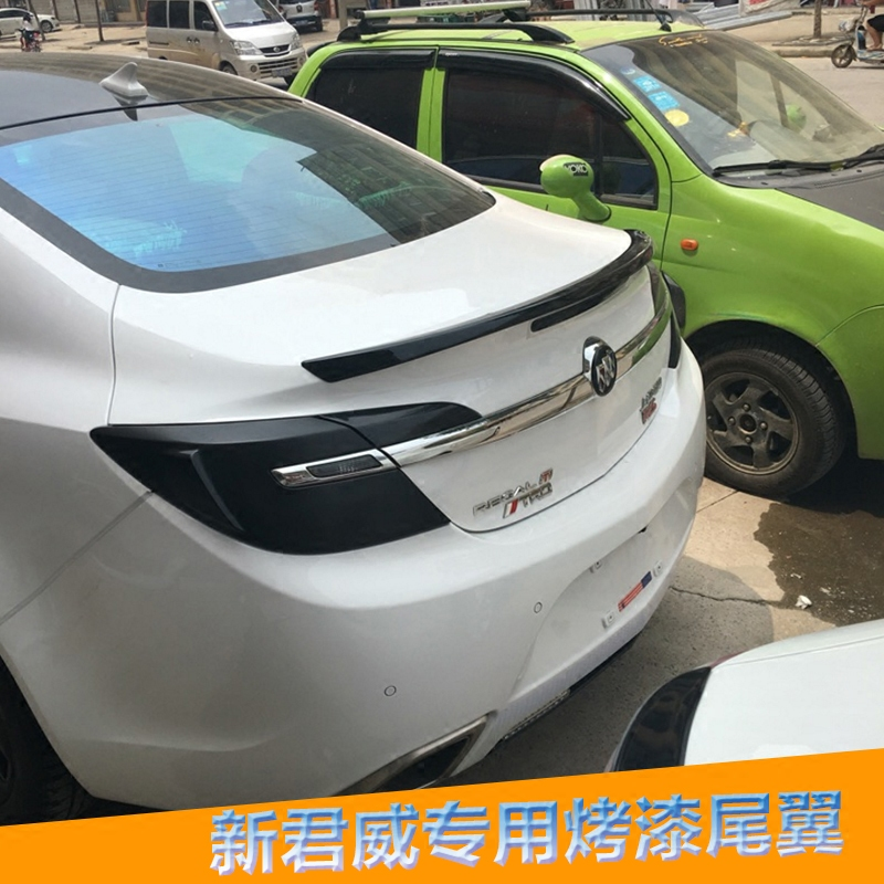 Dedicated buick regal tail wing of the new regal gs modified paragraph 09-16 with paint pressure tail wing free punch