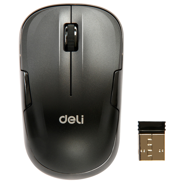 Deli 3713 silent mouse wireless mouse wireless gaming mouse usb mouse