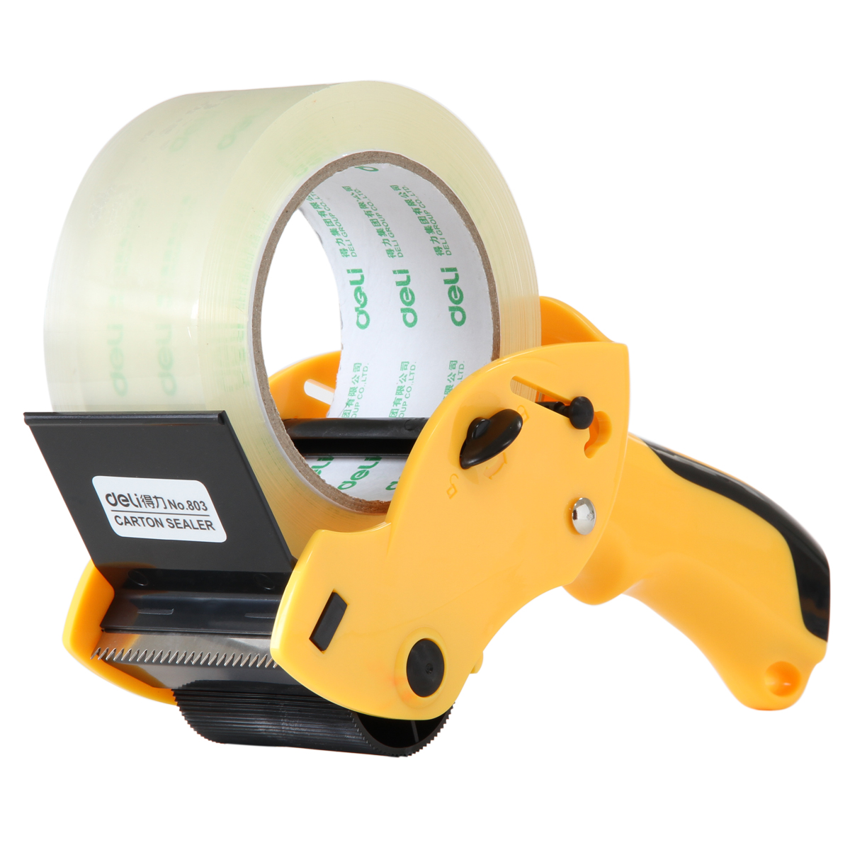 Deli 803 sealing device packing tape cutter cutter metal sealing tape packing tape cutting