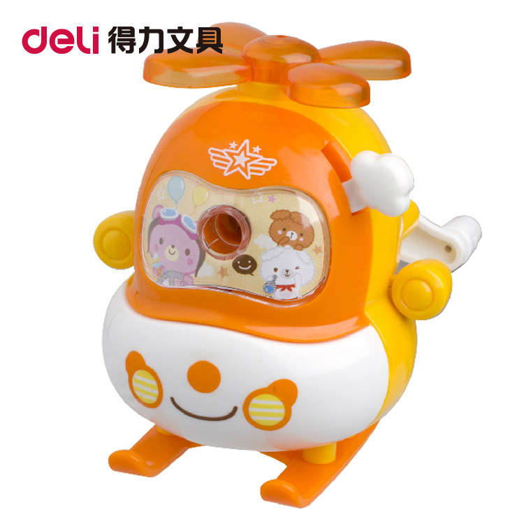 Deli deli 0726 pencil sharpener cartoon pencil sharpener cute pencil sharpener pencil sharpener pencil sharpener pencil sharpener machine pencil sharpener Free shipping